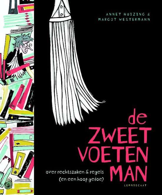 De zweetvoetenman - cover